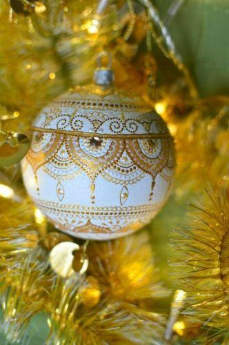 Елочный шар Новогоднее украшение