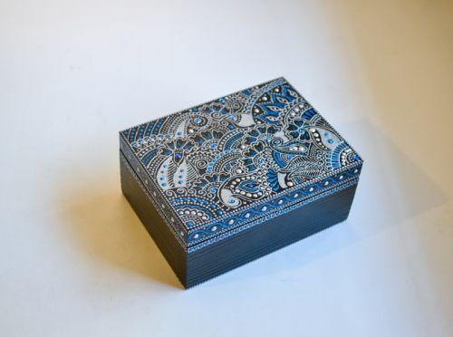 Шкатулка Silver Blue