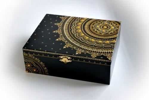 Шкатулка Golden mandala