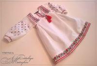 Платье-вышиванка детская