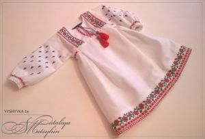 Детские вышиванки Платье-вышиванка детская