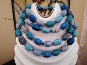 Ожерелья и колье ручной работы Горное озеро