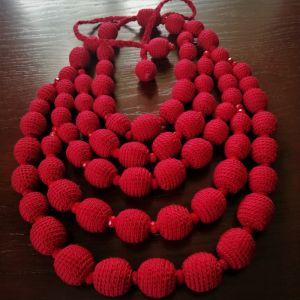 Ожерелья и колье ручной работы Калиновая роскошь