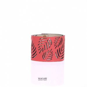Червоний браслет Браслет із натуральної шкіри