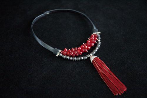Колье Красный бархат - изображение 1