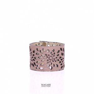 Рожевий браслет Браслет із натуральної шкіри