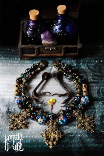 """Ожерелье-згарда """"Истоки Вселенной"""""""