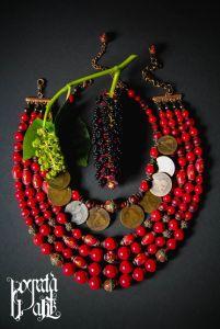 """Ожерелье """"Украинское барокко"""""""