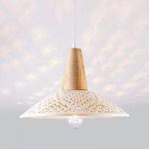 Декор для дома Светильник керамический Heart Milk