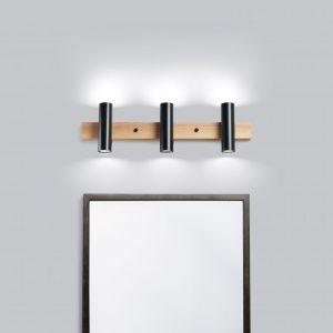 Декор для дома Настенный светильник для зеркала Urban20-3 черный