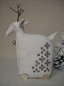 Куклы ручной работы Оленичка в этно стиле