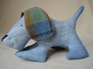 Куклы ручной работы Собака добряка некусяка