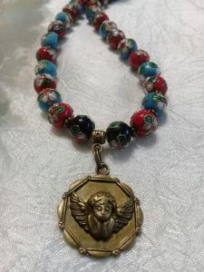 АртБутик Ожерелье с Ангелом