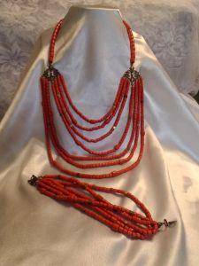 Ожерелье с браслетом