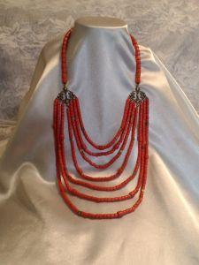 Ожерелье семирядное