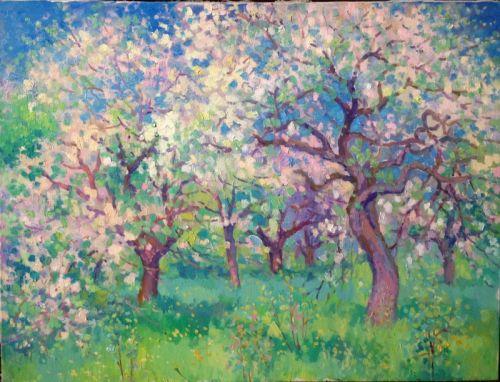 Весенний сад - изображение 1