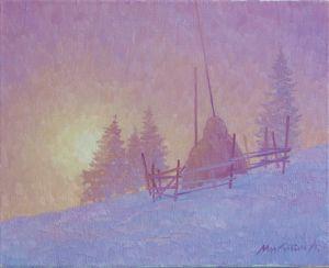 Микитич Левко Морозное утро