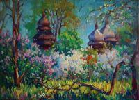 Церковь св.Юрия. Весна
