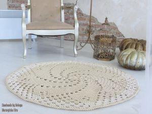 """Килимки ручної роботи Гачкований килим """"Аліна"""""""