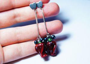 """Jewelry Сережки """"Пристрасть і ніжність"""""""