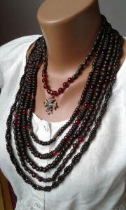 Ожерелье из згардой