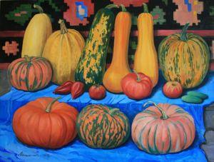 Нарисованные картины Щедрый урожай