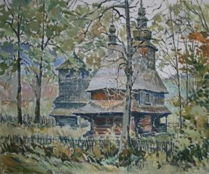 Мищенко Олег Церковь в Гукливом