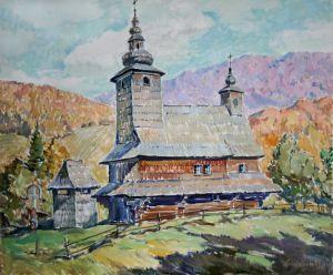 Мищенко Олег Церковь в Буковцево