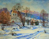 Зима в Славском