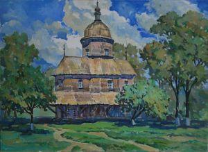 Мищенко Олег Церковь в Драбовцах