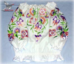 """Детские вышиванки Блуза """"Рассвет"""""""