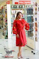 """Современное платье-вышиванка """"Цвет сердца"""""""