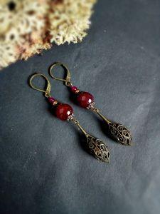 "Earrings Сережки ""Ажур"""