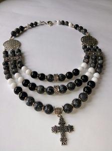 "Ожерелье из лабрадора ""Шторм"""