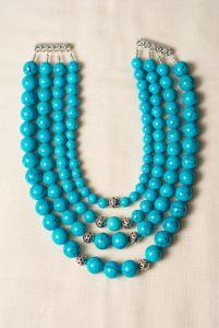 Ожерелье из бирюзы Морская радость