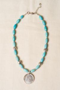 Ожерелье из бирюзы Ядвижка