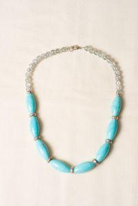 Ожерелье из бирюзы Бирюзовое чудо