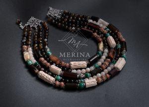 Ожерелья и колье ручной работы Акварель