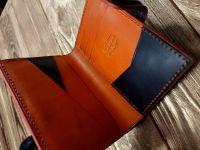 Кожаный кошелек из кожи buttero
