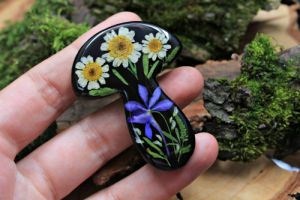 Crafters Брошка з справжніми квітами