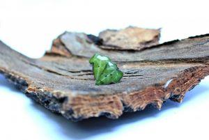 Серьги-гвоздики c листиками плюща