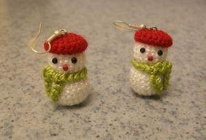 Веселые снеговики №2