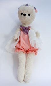 Куклы ручной работы Мишка балерина Сьюзи