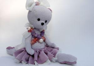 Куклы ручной работы Мишка балерина Бонни