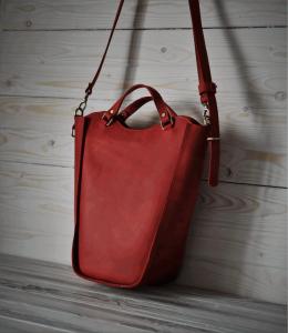 Женские сумки ручной работы Kvoka Bona red