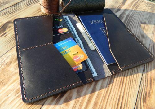 Портмоне для паспорта, автодокументов и денег