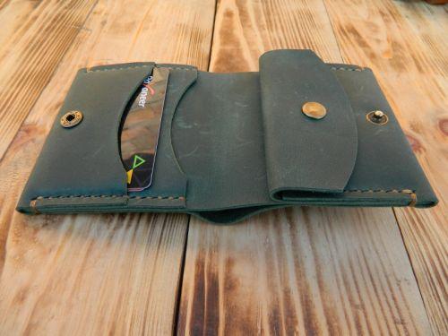 Женский кошелек бумажник с отделом для монет