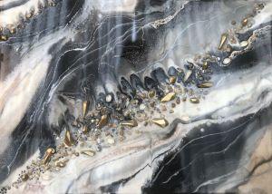 Разное Черно белый мрамор