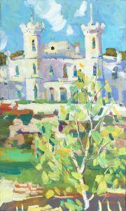 Картины маслом Шаровский замок