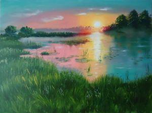 Паталаха Ирина Вечер на озере